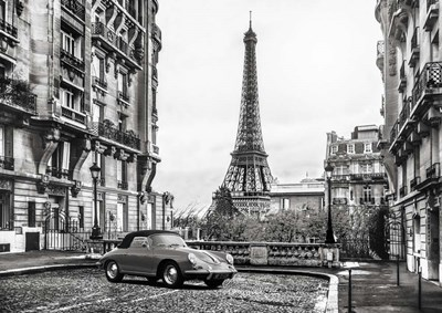 Roadster in Paris Poster by Gasoline Images for $61.25 CAD