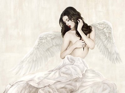 Inspiring Angel Poster by Sonya Duval for $63.75 CAD