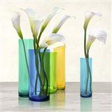 Callas in crystal vases II (detail)