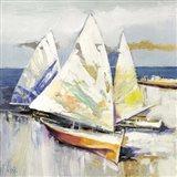 Barche Sulla Spiaggia (detail)