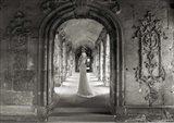Under a Roman Colonnade