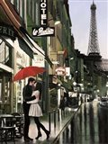 Romance in Paris (Detail)