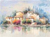 Borgo sul lago