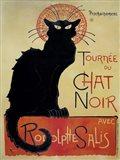 Tournee Du Chat Noir (Yellow Background)