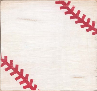 Rustic Baseball Poster by Alli Rogosich for $77.50 CAD