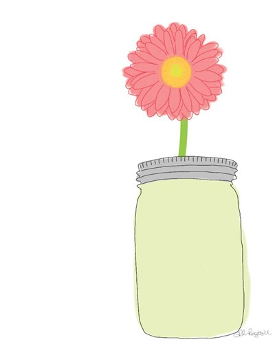 Gerber Daisy Poster by Alli Rogosich for $40.00 CAD