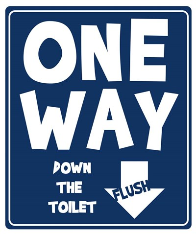 One Way Down Poster by Anna Quach for $31.25 CAD