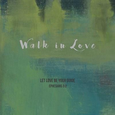 Walk In Love Poster by Judi Bagnato for $35.00 CAD