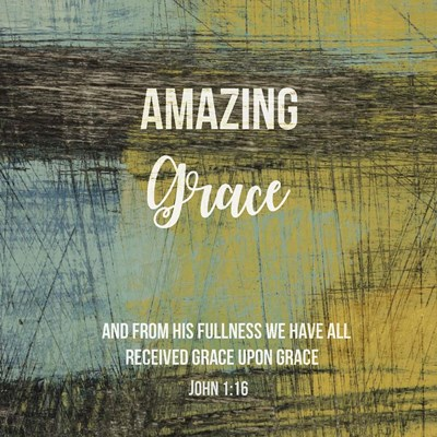 Amazing Grace Poster by Judi Bagnato for $35.00 CAD