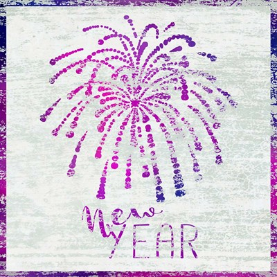 New year Poster by Cora Niele for $35.00 CAD