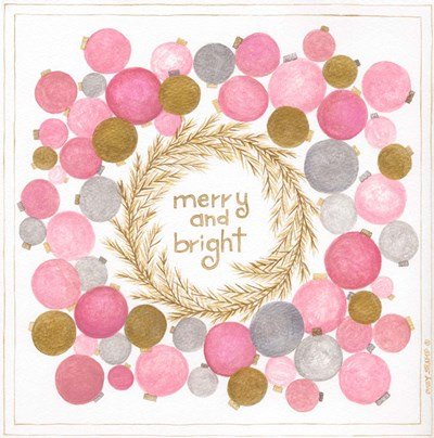 Merry and Bright Poster by Cindy Shamp for $48.75 CAD