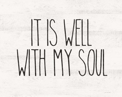 Well with My Soul Poster by Jo Moulton for $56.25 CAD