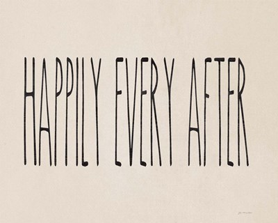 Happily Ever After Poster by Jo Moulton for $56.25 CAD
