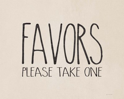 Favors Poster by Jo Moulton for $56.25 CAD