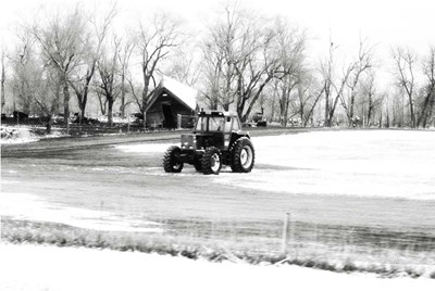 Tractor Poster by Jennifer Pugh for $43.75 CAD