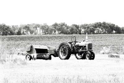 Tractor III Poster by Jennifer Pugh for $43.75 CAD