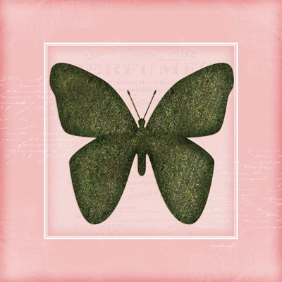 Butterfly - Pink Poster by Jennifer Pugh for $48.75 CAD