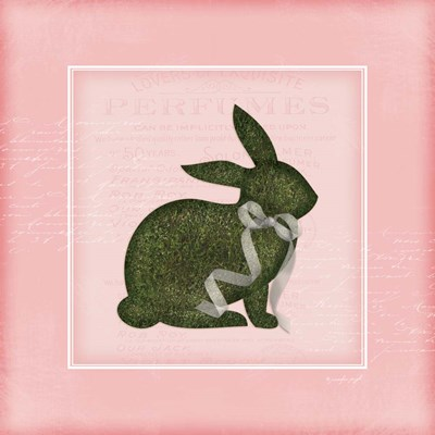 Bunny II - Pink Poster by Jennifer Pugh for $48.75 CAD