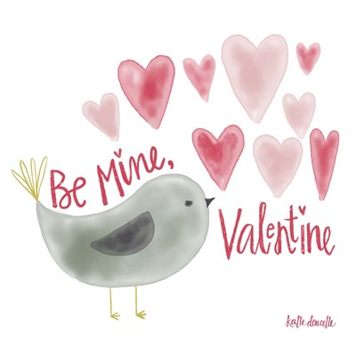 Be My Valentine Poster by Katie Doucette for $48.75 CAD