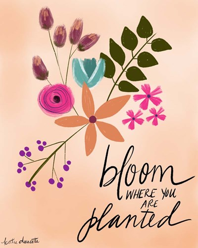 Bloom Poster by Katie Doucette for $40.00 CAD