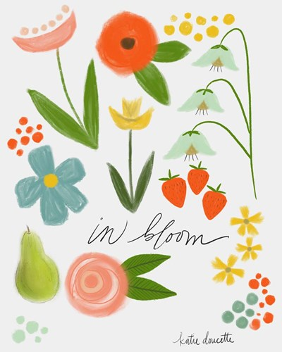 In Bloom Poster by Katie Doucette for $40.00 CAD