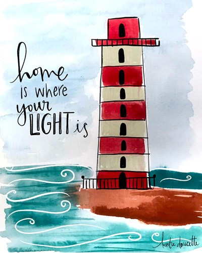 Home is Where Your Light Is Poster by Katie Doucette for $40.00 CAD