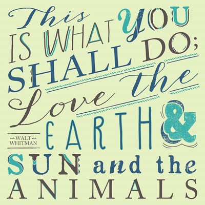 Walt Whitman Poster by Longfellow Designs for $35.00 CAD