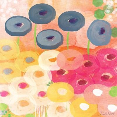 Joyful Garden III Poster by Linda Woods for $35.00 CAD