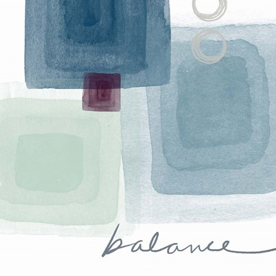 Soothing Balance Poster by Linda Woods for $56.25 CAD