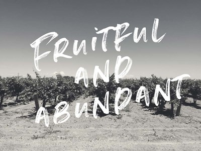 Fruitful and Abundant Poster by Linda Woods for $41.25 CAD