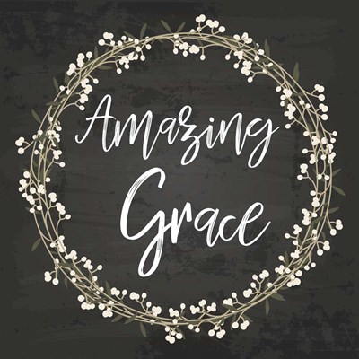 Amazing Grace Poster by ND Art & Design for $35.00 CAD