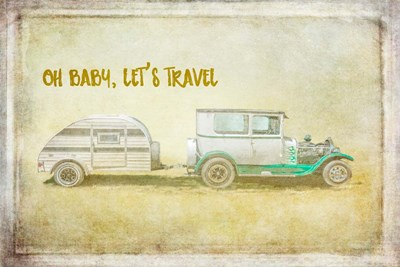 Baby Let's Travel Poster by Ramona Murdock for $62.50 CAD