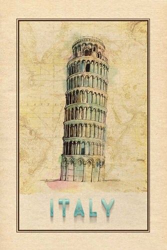 Travel Italy Poster by Ramona Murdock for $43.75 CAD