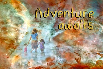 Adventure Awaits Poster by Ramona Murdock for $43.75 CAD