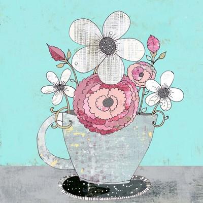 Tea Cup IV Poster by Sarah Ogren for $48.75 CAD