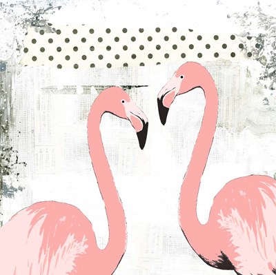 Flamingos Poster by Sarah Ogren for $48.75 CAD