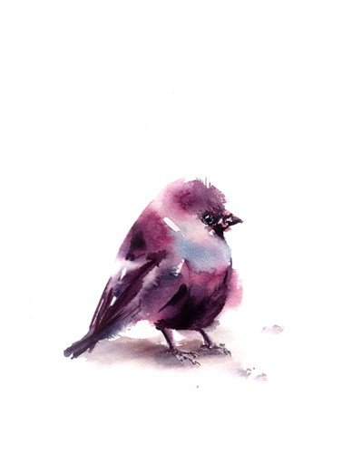 If You're a Purple Bird? Poster by Sophia Rodionov for $40.00 CAD