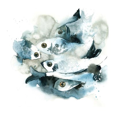 Fish Poster by Sophia Rodionov for $63.75 CAD