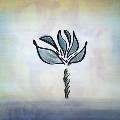 Watercolor Flower Poster by Tara Moss for $35.00 CAD