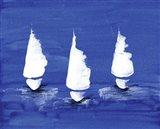 Sailboats at Night