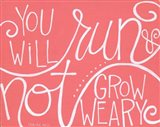 Not Grow Weary