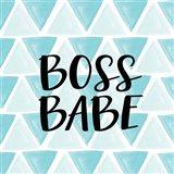 Boss Babe - Aqua