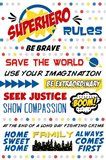 Superhero Rules Typography