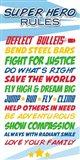 Superhero List