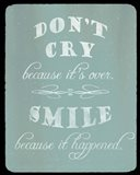 Don't Cry, Worry Tomorrow
