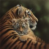 Tiger Mother and Cub - Cherished