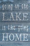 Lake Home Words
