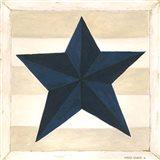 Blue Star, White Stripes