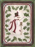 Birdhouse Snowman