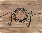 Joy Rustic Wreath